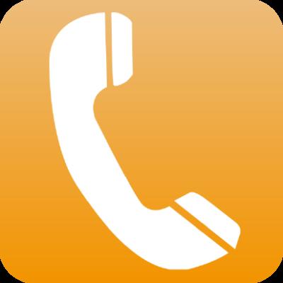 Telefoon-footer-icoon
