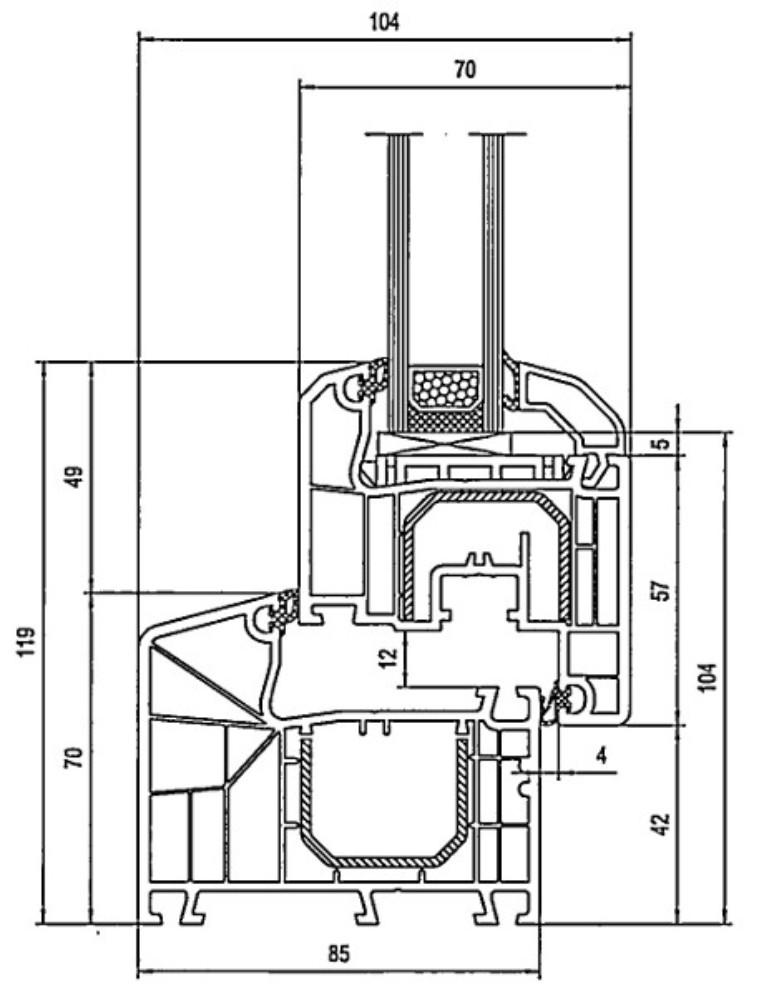 Verbazingwekkend Aluplast (kunststof) - Kozijn en glas BM-39